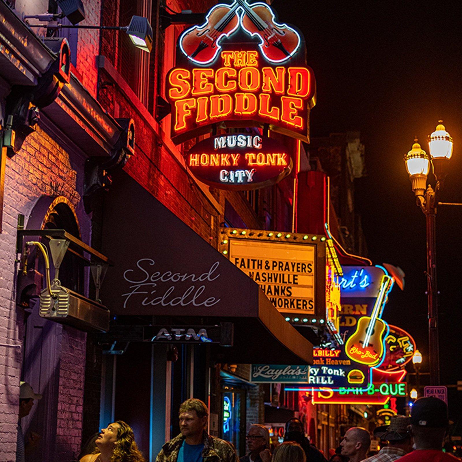 Downtown Nashville - The Second Fiddle