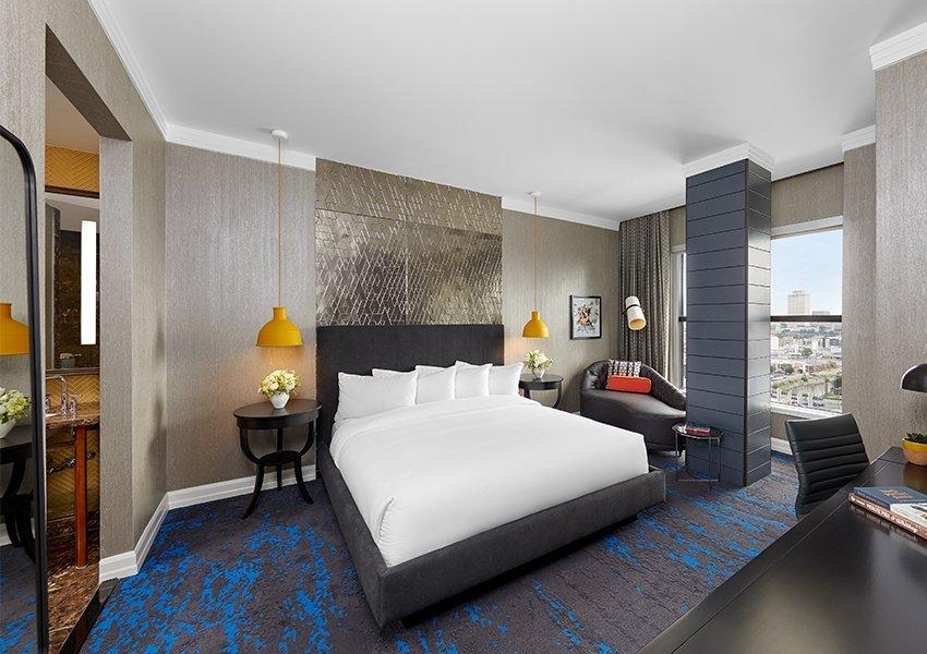 Penthouse East bedroom