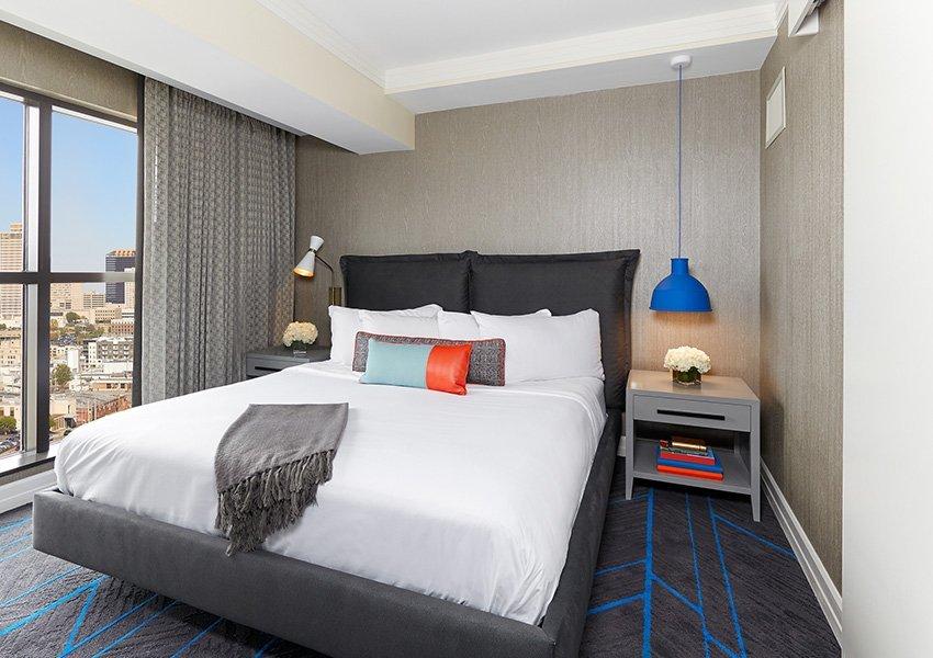 Westend King Suite Bedroom